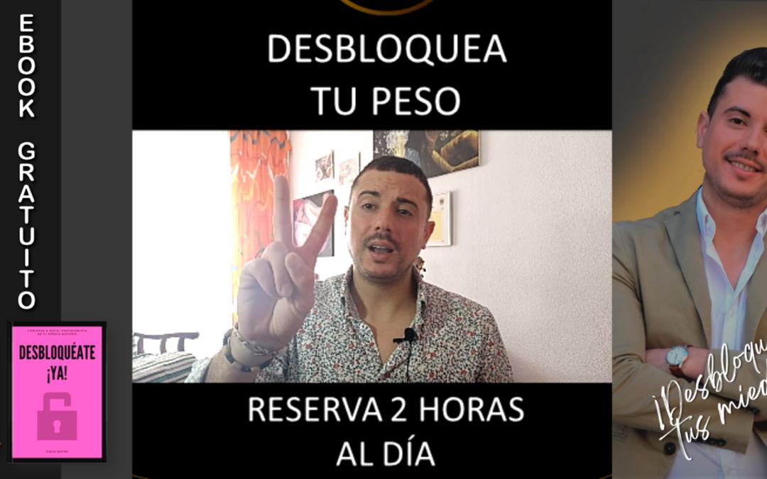PERDER PESO. 2 CLAVES